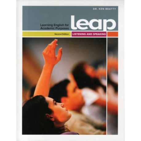 LEAP (Learning English for Academic Purposes) High Intermediate, Listening and Speaking with My eLab