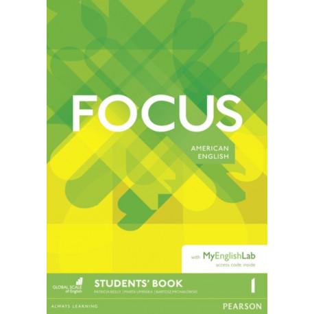 Focus AmE 1 Students' Book & MyEnglishLab Pack