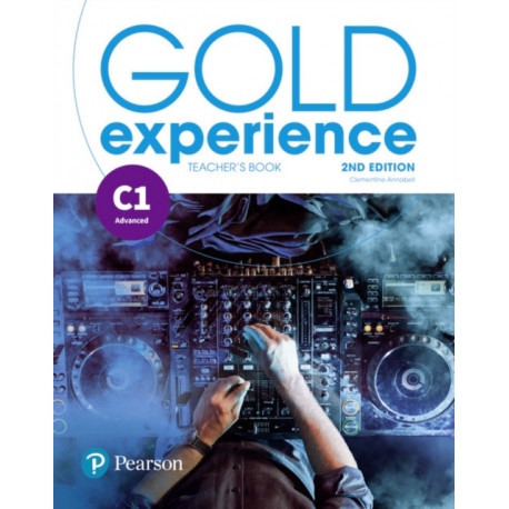 Gold Experience 2nd Edition C1 Teacher's Book with Online Practice & Online Resources Pack