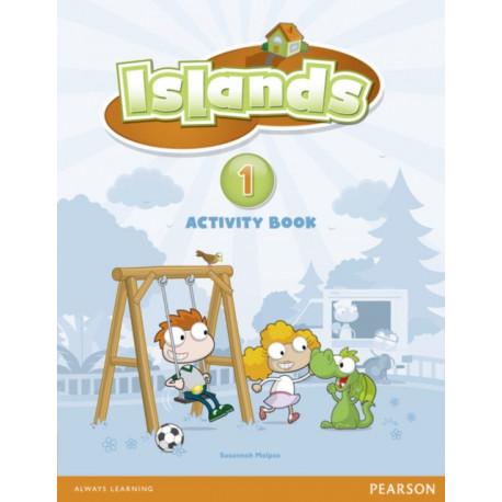 Islands Level 1 Activity Book plus pin code
