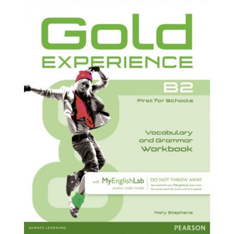 Gold Experience B2 MyEnglishLab & Workbook Benelux Pack