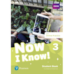 Now I Know 3 Student Book plus PEP pack