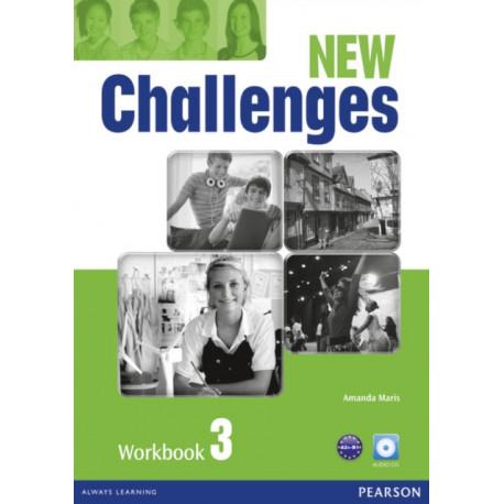 New Challenges 3 Workbook & Audio CD Pack