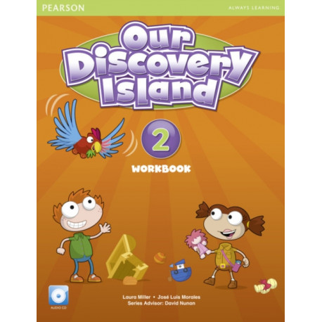 Our Discovery Island American Edition Workbook with Audio CD 2 Pack