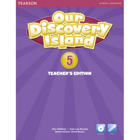 Our Discovery Island American Edition Teachers Book with Audio CD 5 Pack