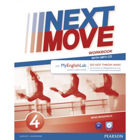 Next Move 4 MyEnglishLab & Workbook Benelux Pack