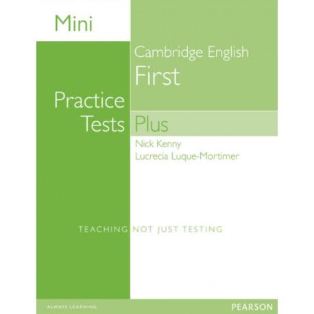 Mini Practice Tests Plus: Cambridge English First
