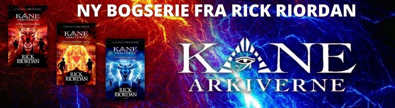 Ny bogserie på dansk fra Rick Riordan: Kane Arkiverne