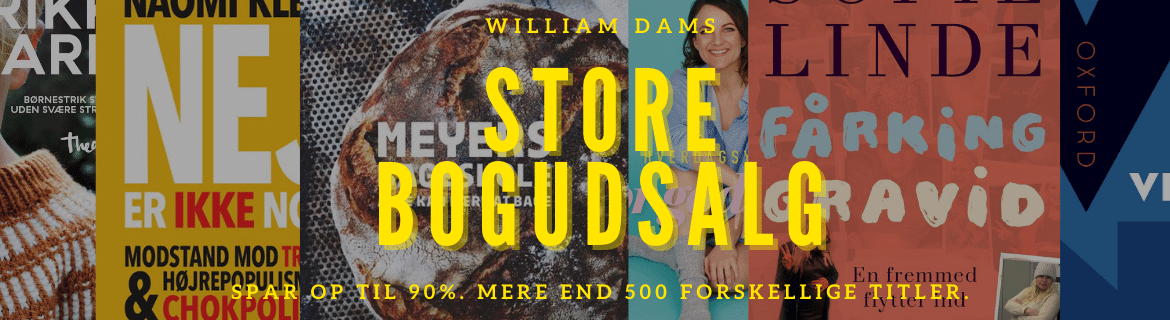 William Dams Store Bogudsalg